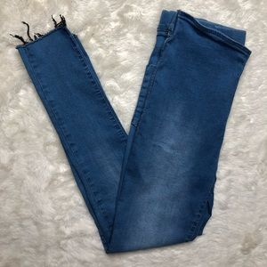 Free People Skinny Jeans Light Wash Size 30